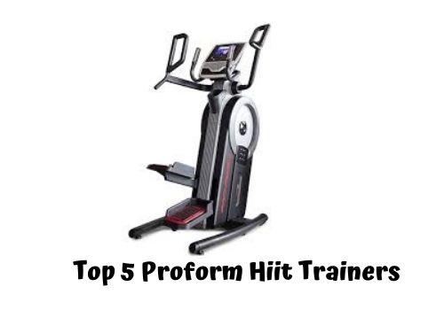 proform hiit training