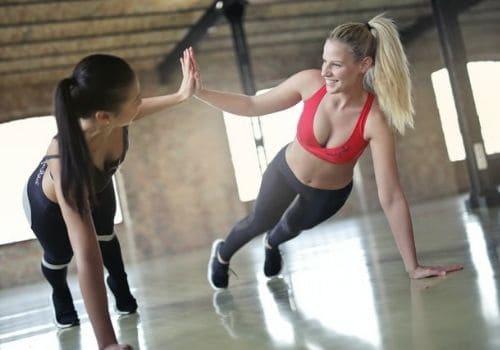 get a workout pal
