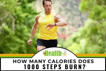 how many calories does 1000 steps burn