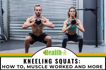kneeling squats