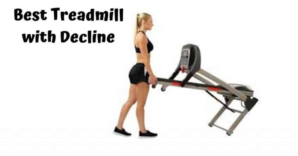treadmill with decline