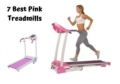 best pink treadmill