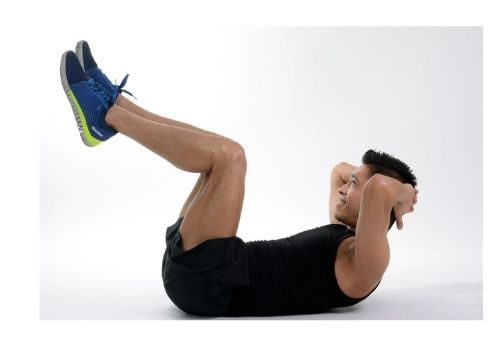 vertical crunches