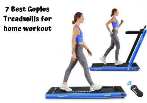 best goplus treadmill