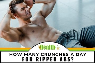 how many crunches a day