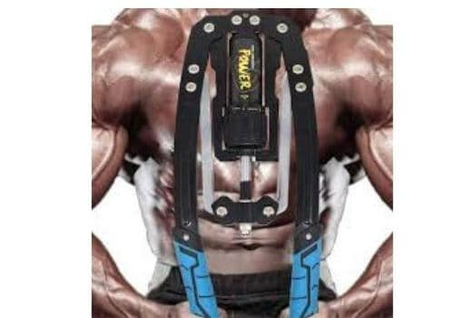 strength training using chest expander (1)
