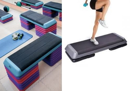 workout step bench