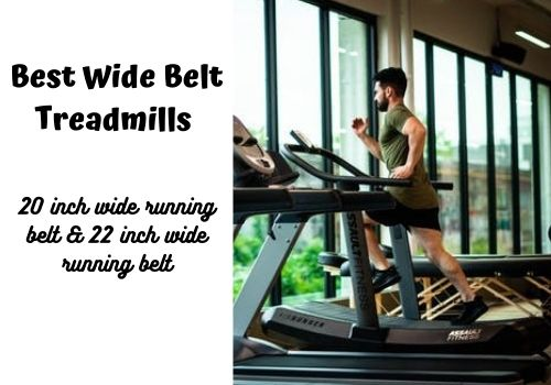 wide belt treadmill