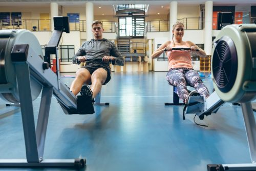 are rowing machines a good workout