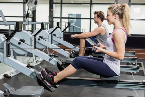 will a rowing machine build muscle