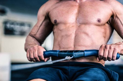 does rowing work your abs