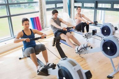 can a rowing machine reduce fat on your stomach?