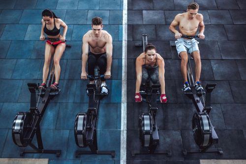 will a rowing machine burn fat