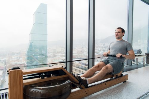 air water or magnetic rowing machine