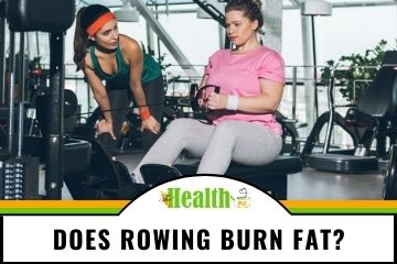 does rowing burn fat