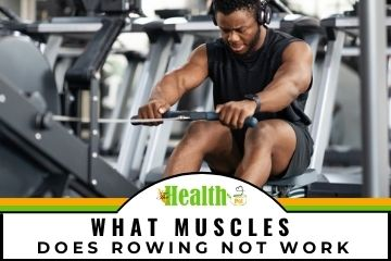 what muscles does rowing not work